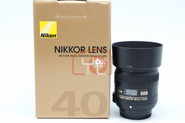 [USED-PUDU] Nikon 40mm F2.8G AF-S DX Micro 95%LIKE NEW CONDITION SN:2174850