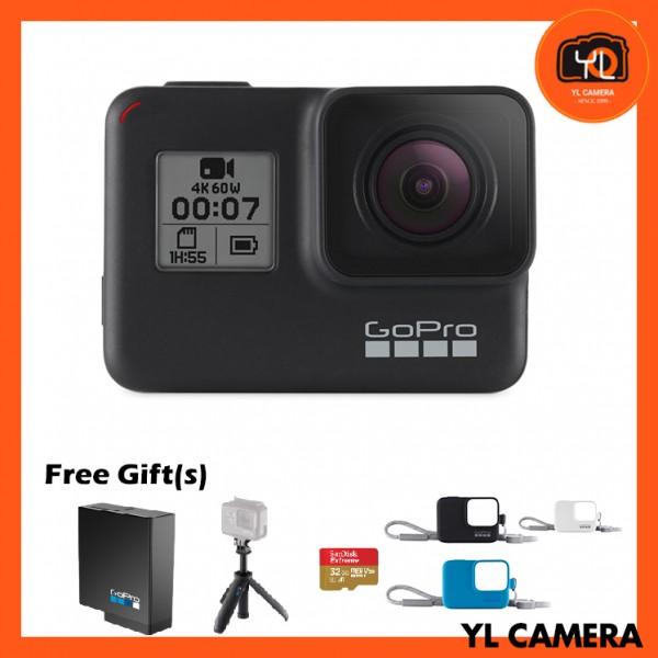 GoPro HERO7 Black W/ Bundle Kit(FREE Lexar 64GB MicroSD Card)